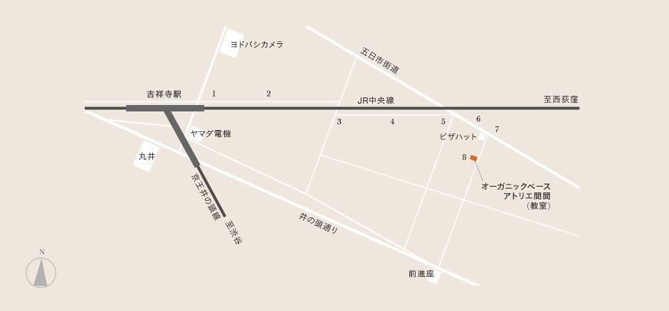 地図 | マクロビオティック・オ...
